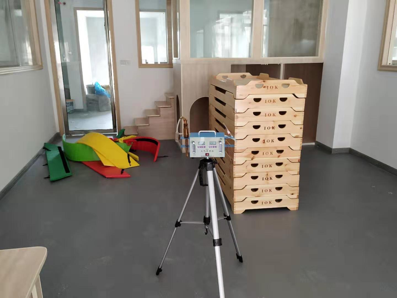 南昌恩吉拉教育机构装修甲醛检测案例